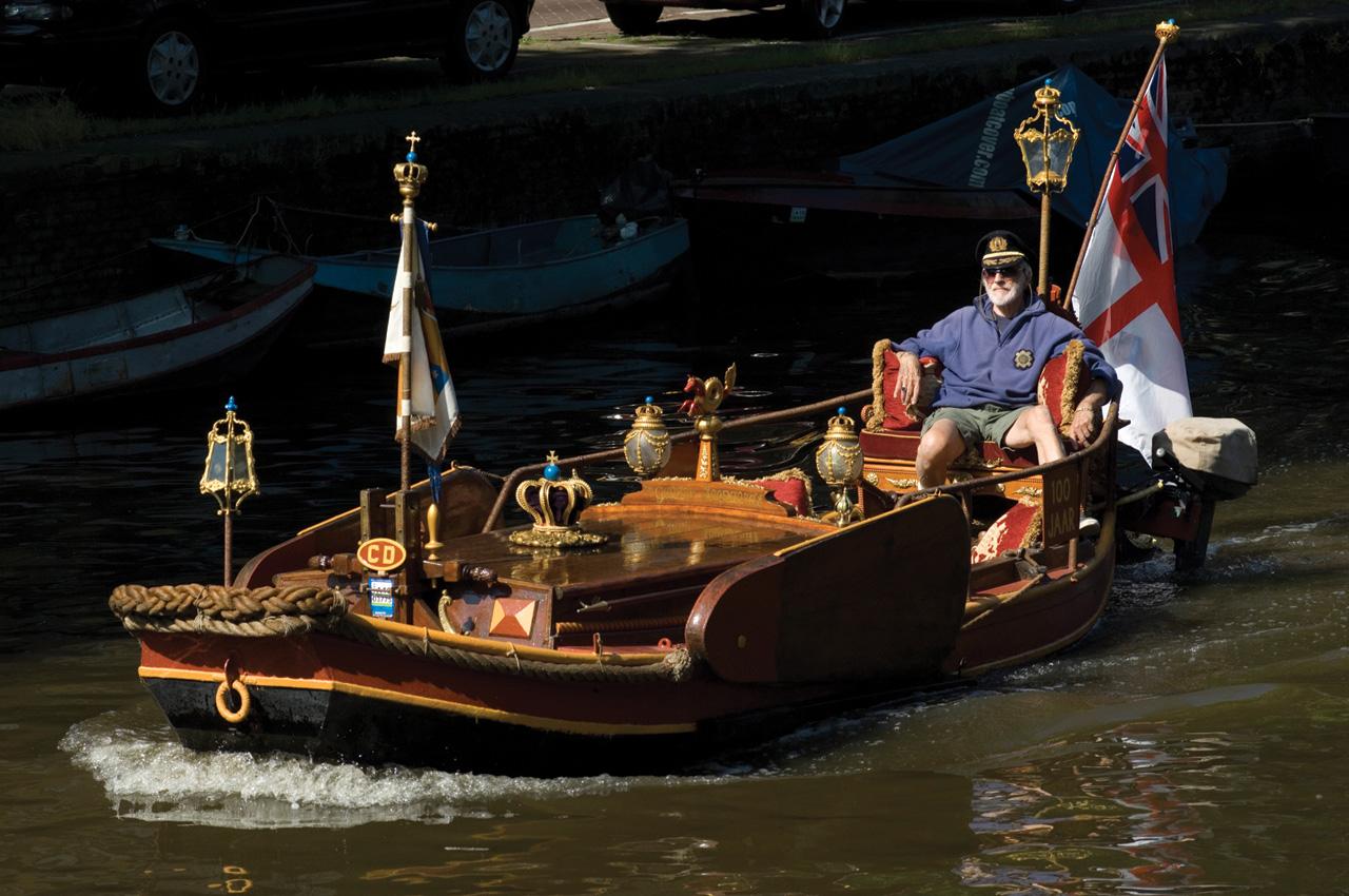 Båtliv i Amsterdam