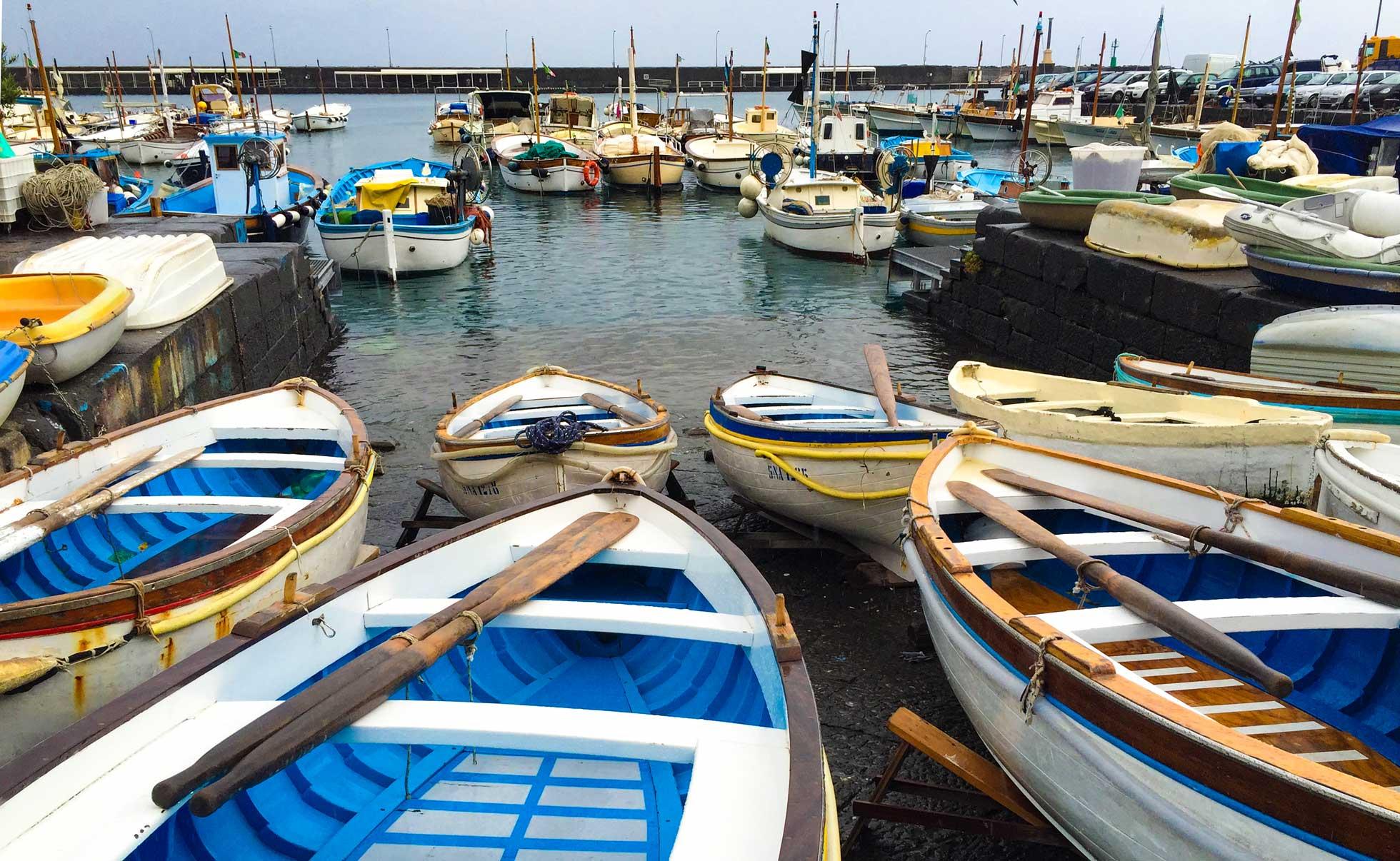 Hamnen på Capri