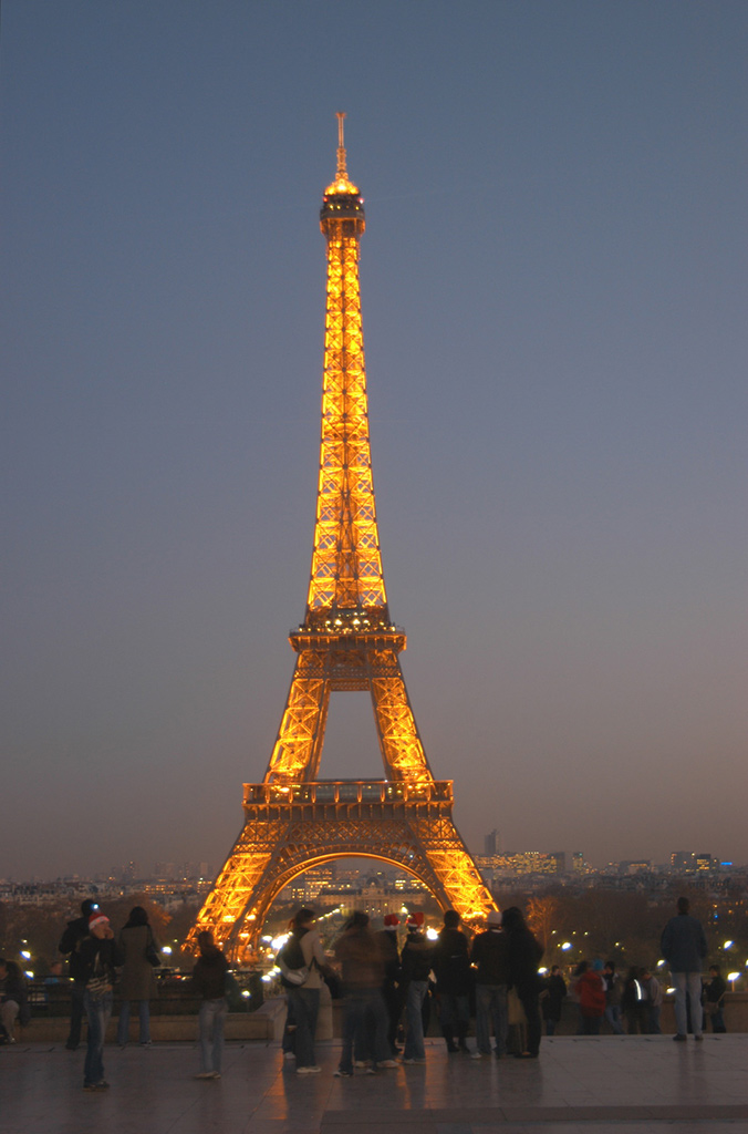 Eiffeltornet Paris