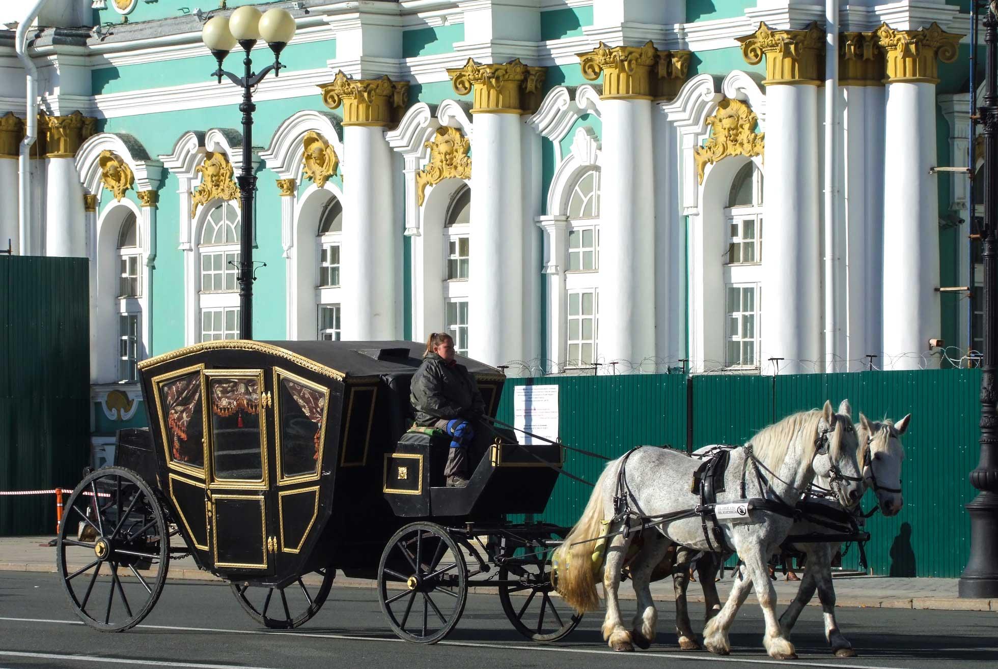 Gruppresa St Petersburg med besök på Eremitaget