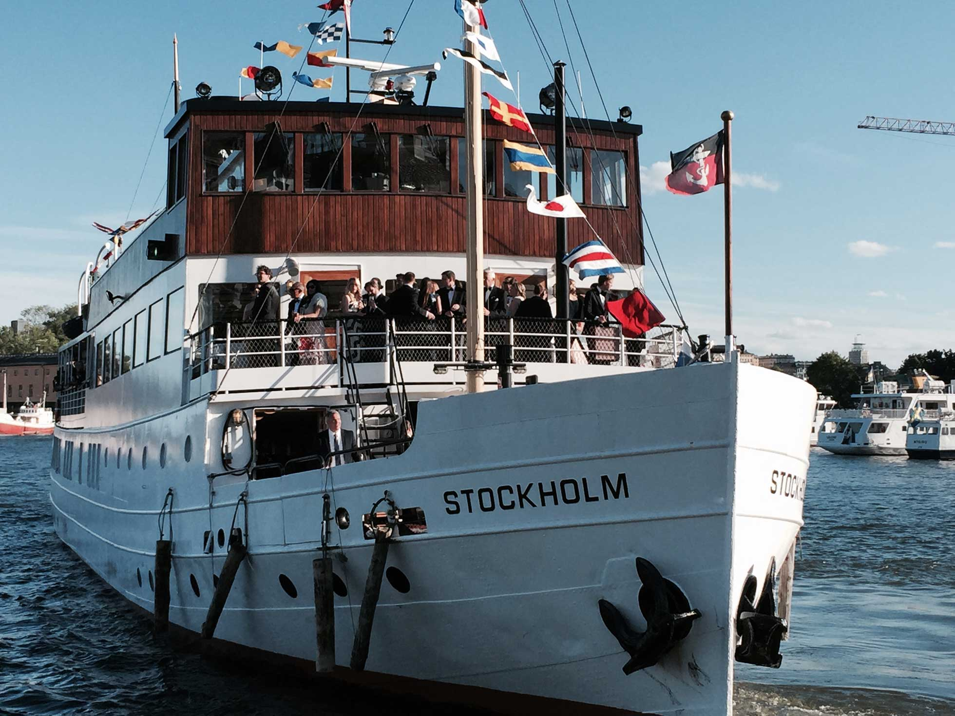 Festbåt Stockholm
