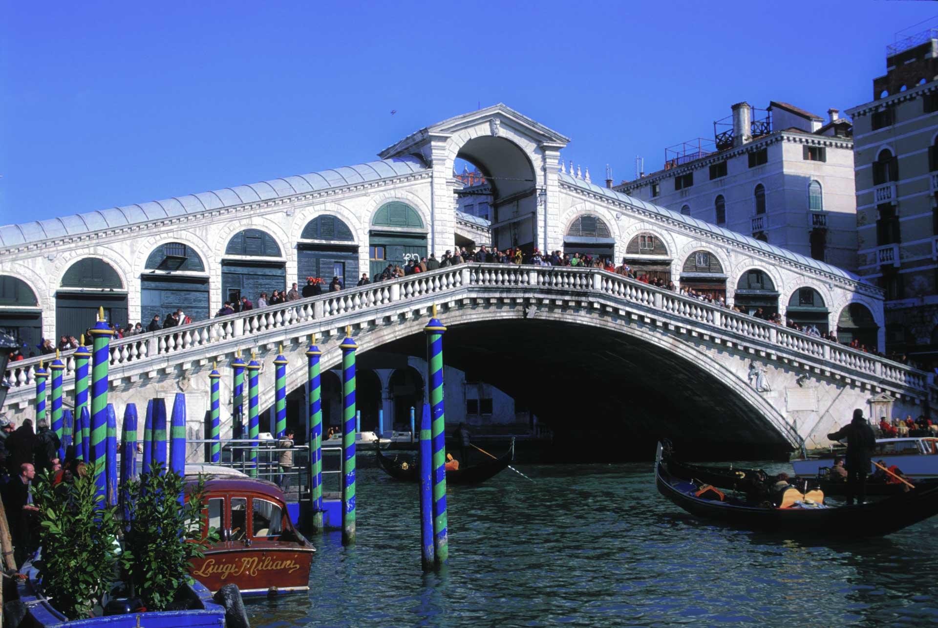Guidad tur i Venedig Italien med Rialtobron