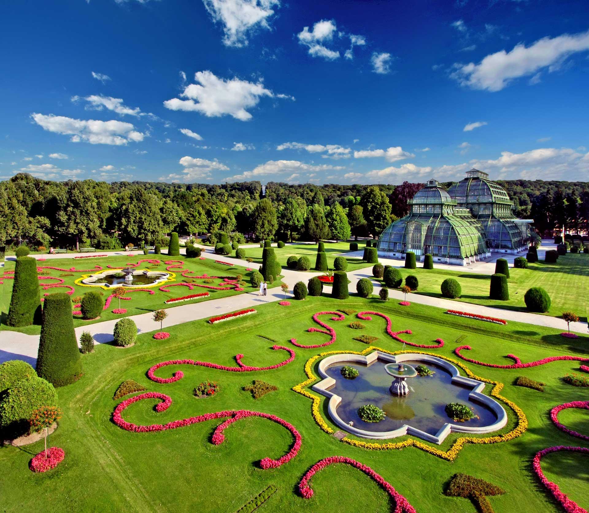 Grupp- och konferensresa till Schoenbrunns vackra trädgårdar Wien