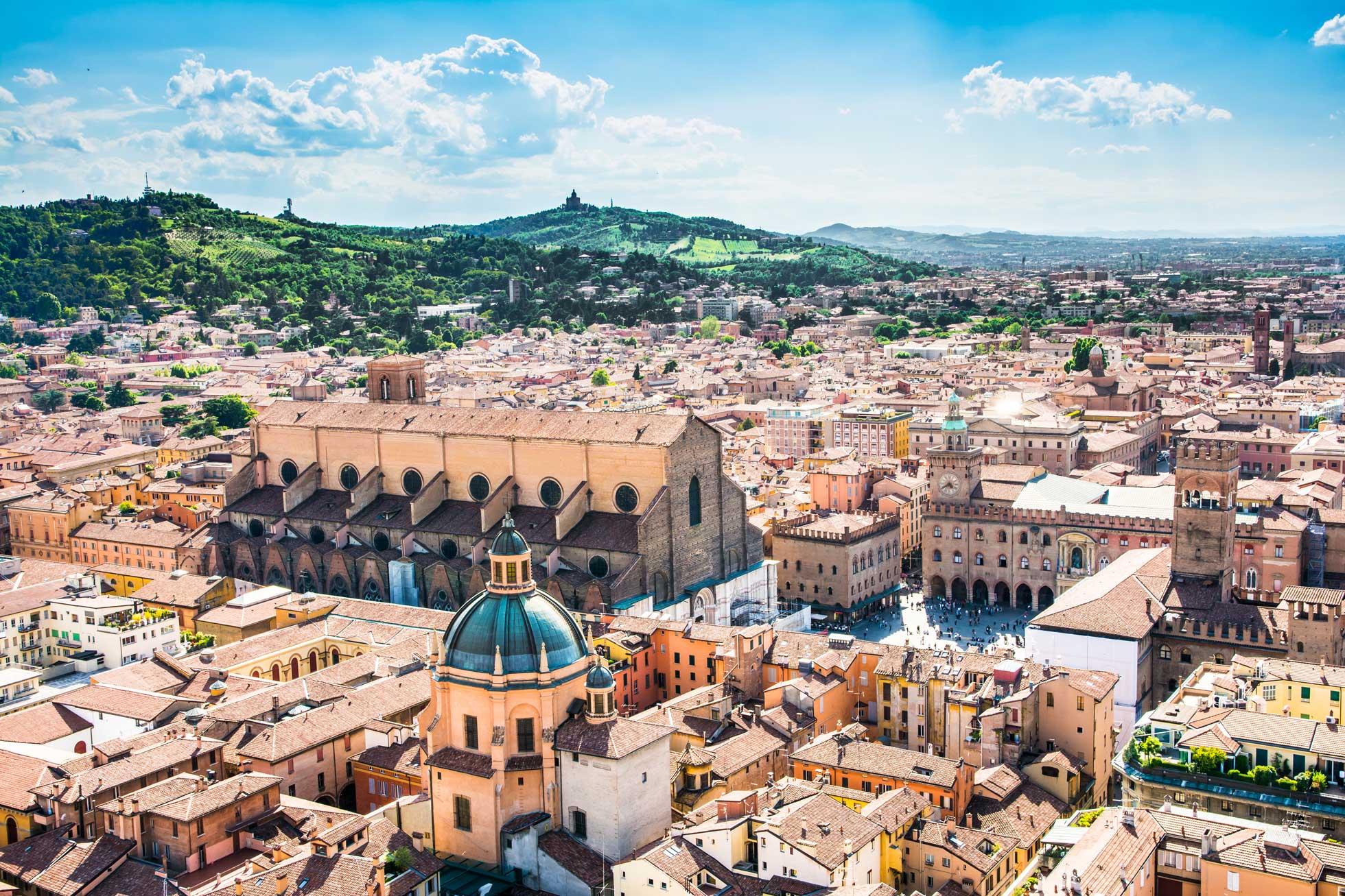 Lokala Bologna med smeknamnet La Grassa
