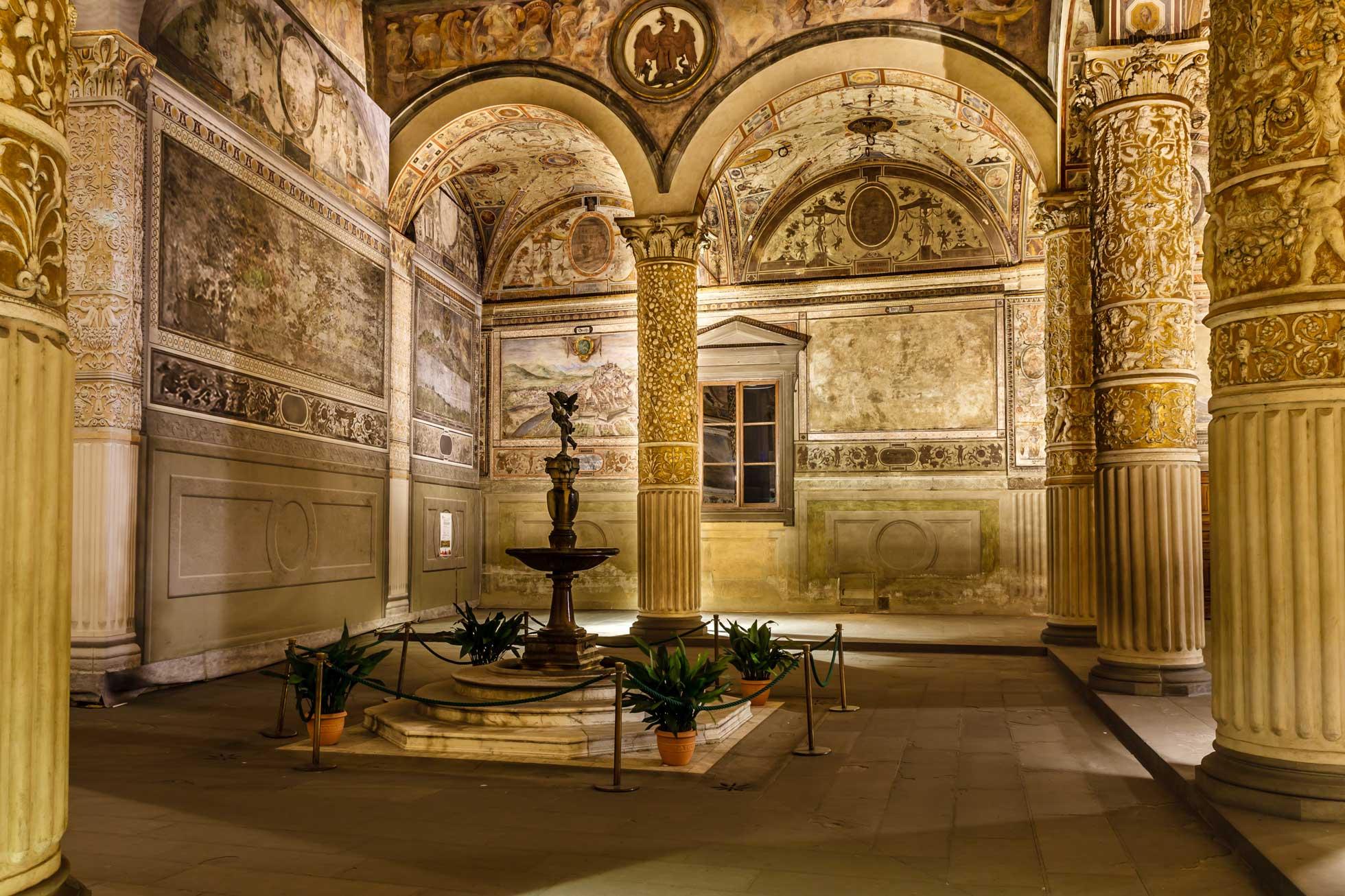 Konferensresa Palazzo Vecchio Florens