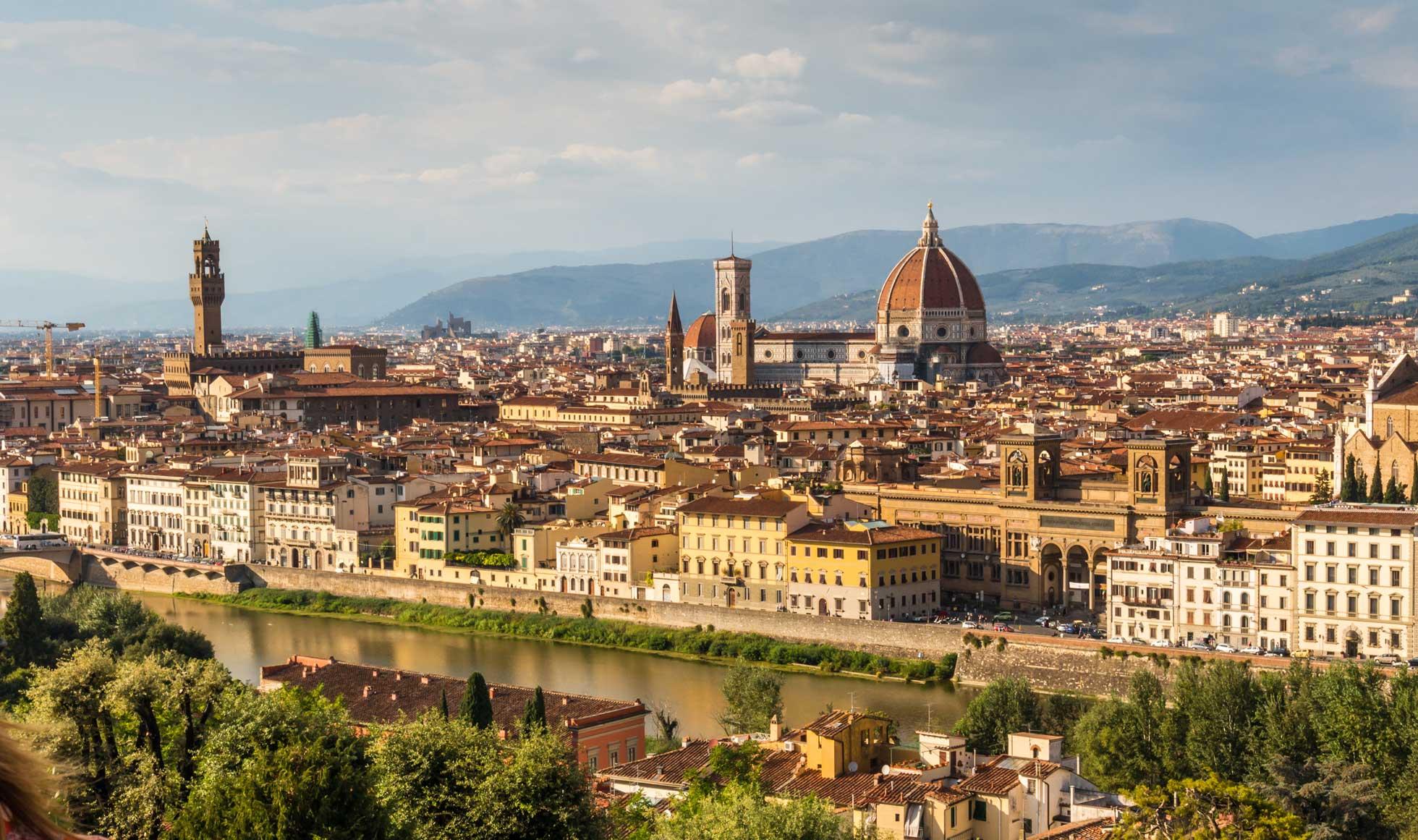 Guidad tur under en grupp- och konferensresa till Florens Italien
