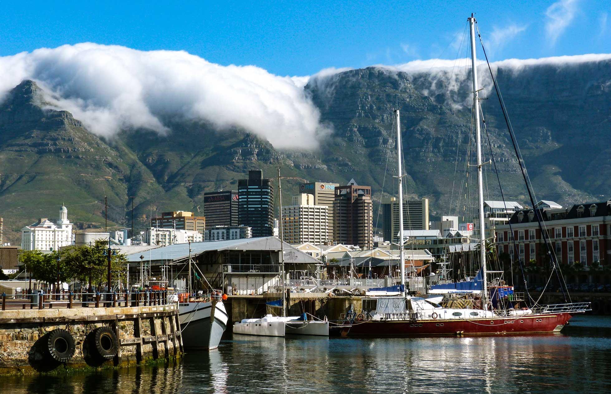 Dagsutflykt under konferensresa till Kapstaden Sydafrika