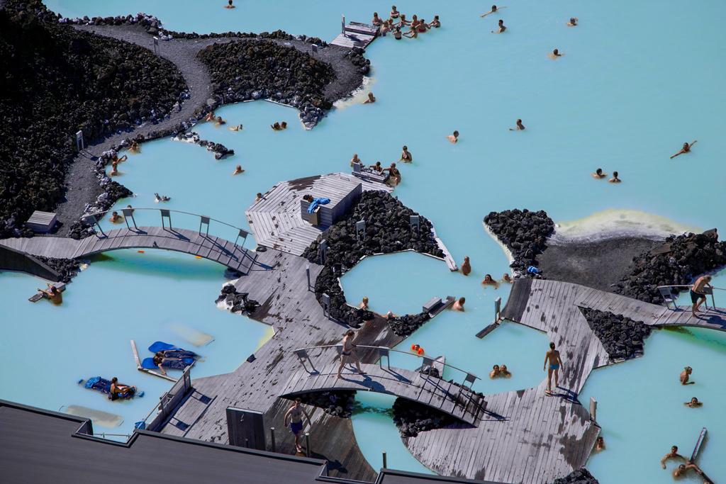 Konferensresa Reykjavik Island med Blå lagunen