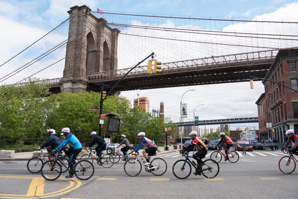 Cykeltur under konferensresan till New York