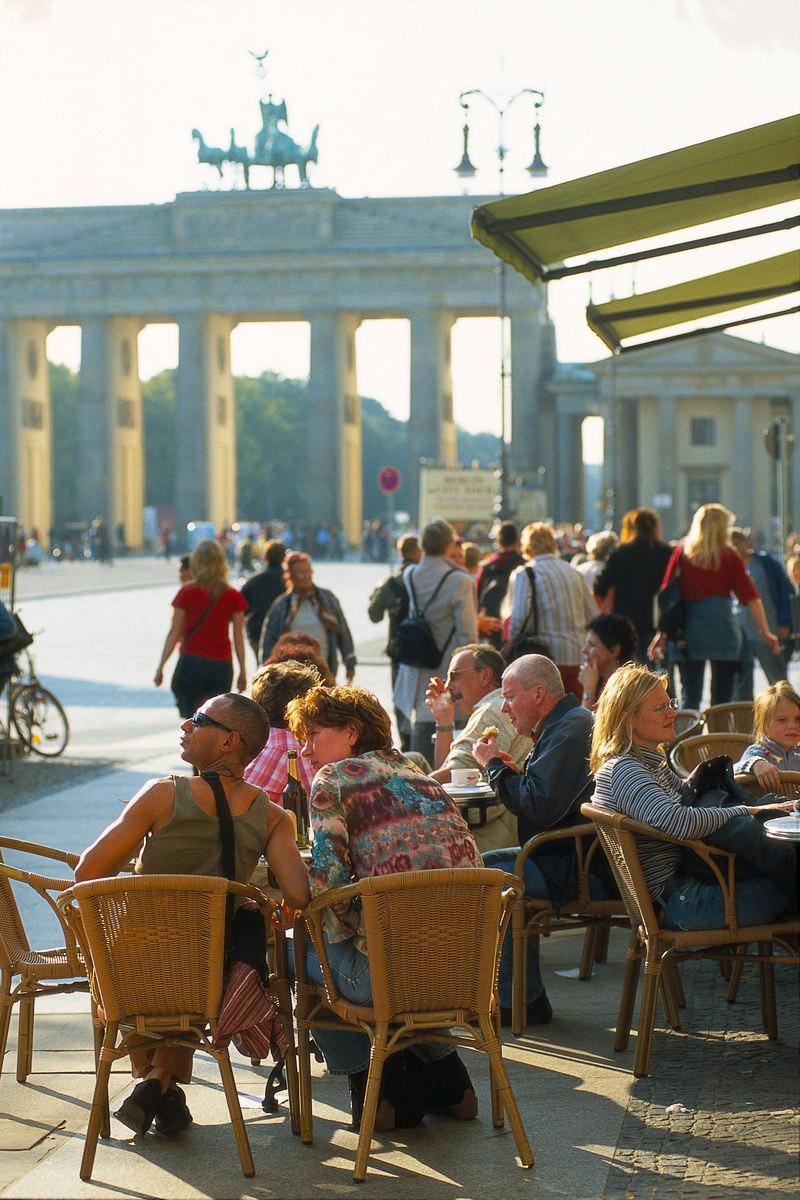 Grupp- och konferensresa Berlin med stadsvandring Brandenburger Tor