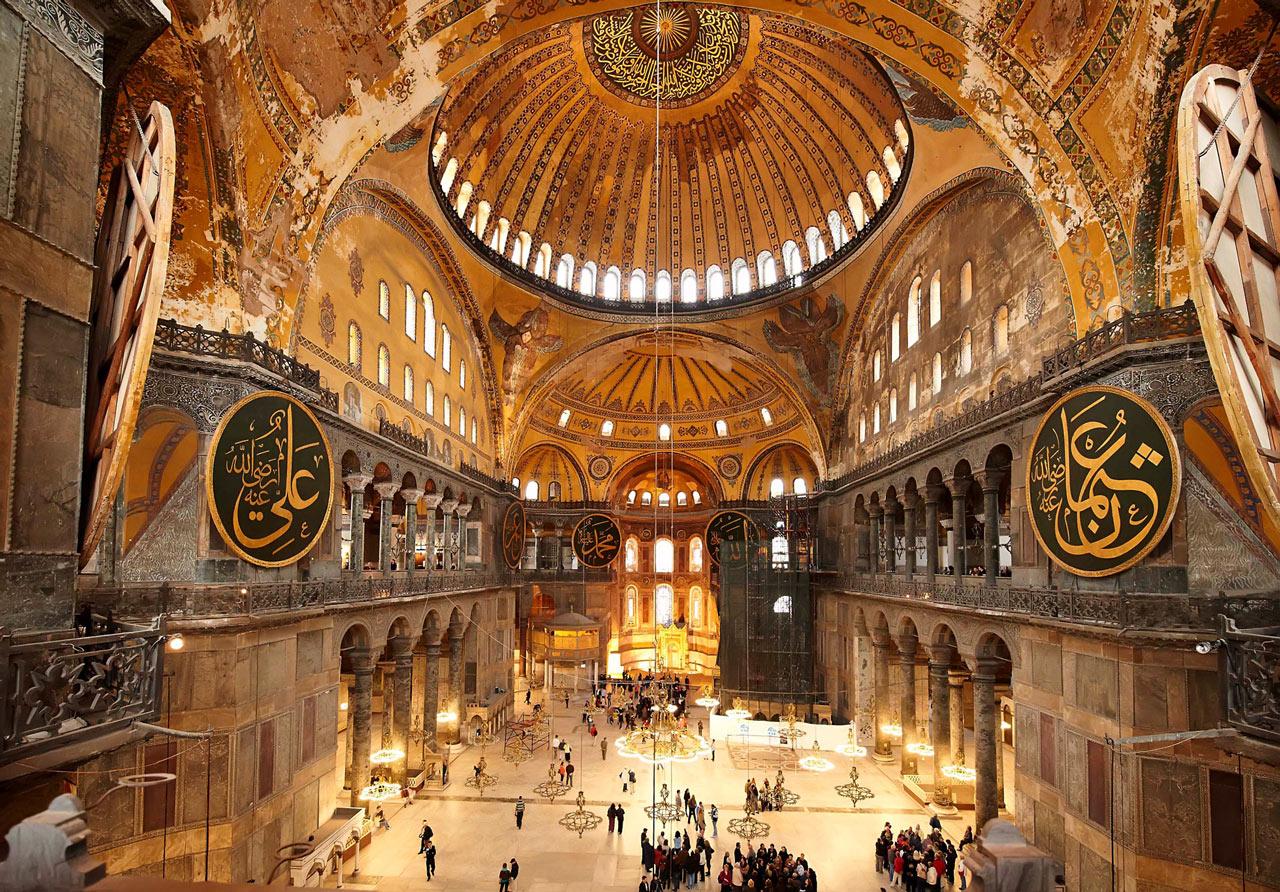 Grupp- och konferensresa Istanbul med utflykt till kulturskatten Haghia Sophia