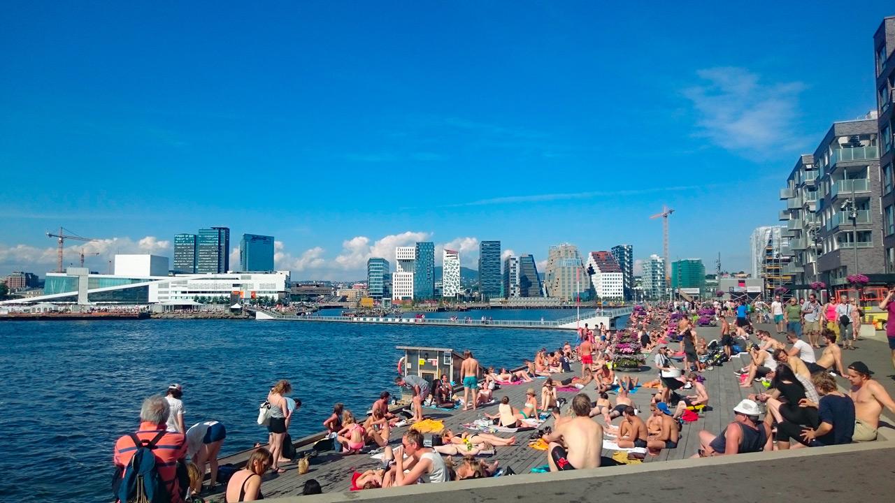 Sommarhäng i Oslo
