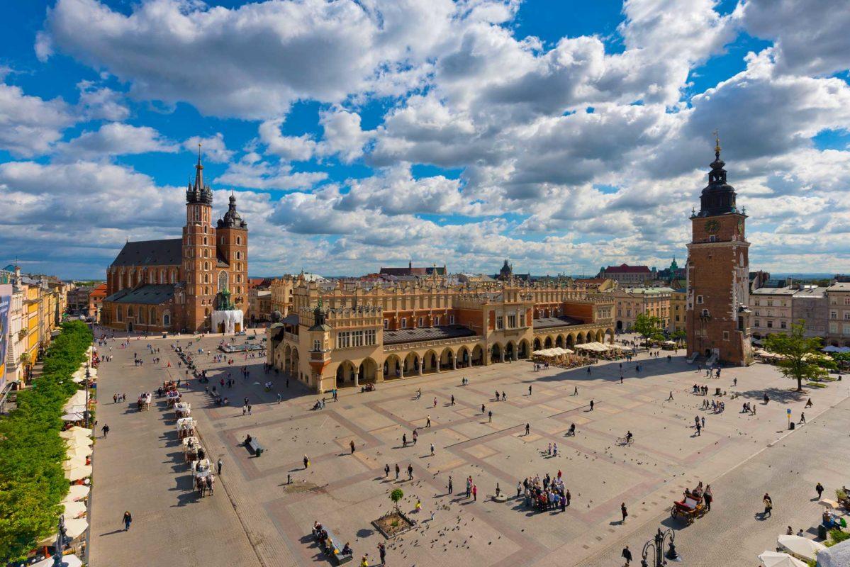 Konferera i Krakow Polen