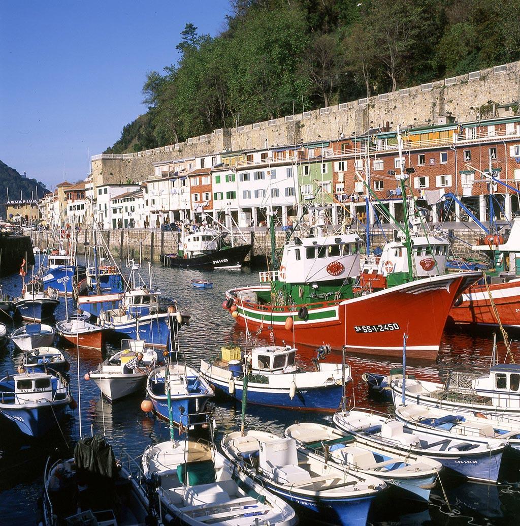 Grupp- och konferensresa San Sebastian Spanien med båtutflykt