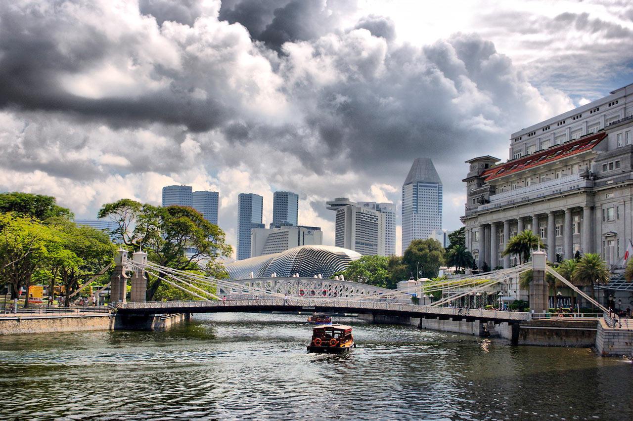 Upplev det moderna Singapore i kontrast till det historiska under konferensresan till Singapore